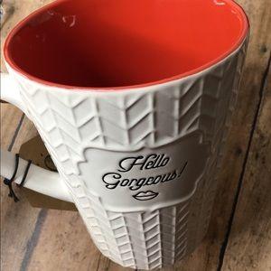 My Mug Hello Gorgeous Red MUG NEW